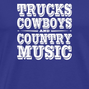 Truck Cowboys - Men's Premium T-Shirt
