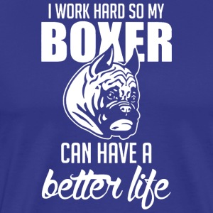 My Boxer T Shirt - Men's Premium T-Shirt