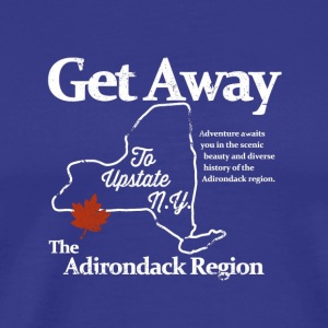 Get Away To Upstate New York - Men's Premium T-Shirt