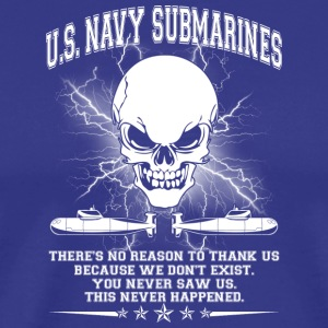 U S NAVY SUBMARINES SHIRT - Men's Premium T-Shirt
