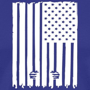 United States not Free - Men's Premium T-Shirt