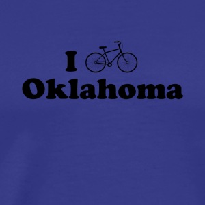 oklahoma biking - Men's Premium T-Shirt