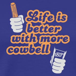 Cowbell - Men's Premium T-Shirt