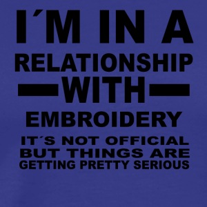 relationship with EMBROIDERY - Men's Premium T-Shirt