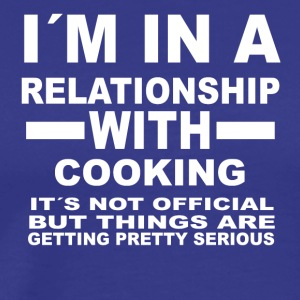 relationship with COOKING - Men's Premium T-Shirt