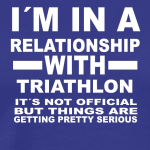 relationship with TRIATHLON - Men's Premium T-Shirt