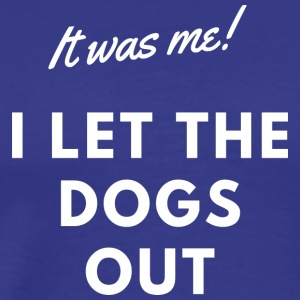 Flyball - It was me (white) - Men's Premium T-Shirt