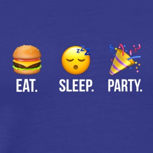 Eat Sleep Party - Men's Premium T-Shirt