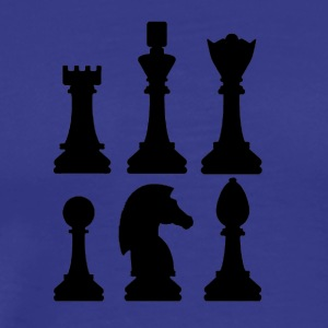 Chess figures - Men's Premium T-Shirt