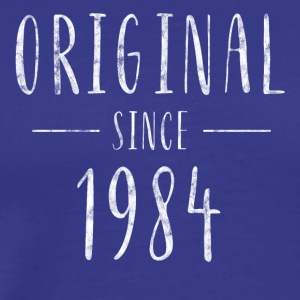 Original since 1984 distressed - Born in 1984 - Men's Premium T-Shirt