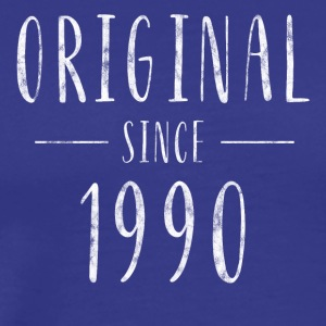 Original since 1990 distressed - Born in 1990 - Men's Premium T-Shirt