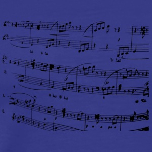 Musical notation - Men's Premium T-Shirt