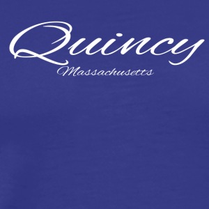 Massachusetts Quincy US DESIGN EDITION - Men's Premium T-Shirt