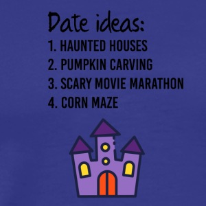 Date ideas for Halloween - Men's Premium T-Shirt