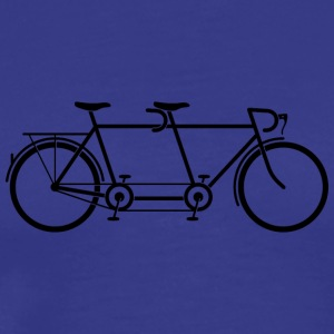 Tandem Bike - Men's Premium T-Shirt