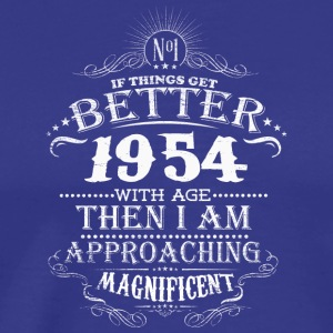 Made in 1954 I am approaching magnificent - Men's Premium T-Shirt