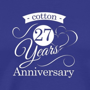 27th Anniversary Shirts Best Anniversary Gifts Fo - Men's Premium T-Shirt