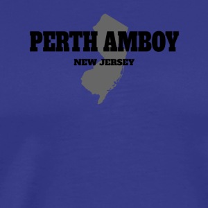 NEW JERSEY PERTH AMBOY US STATE EDITION - Men's Premium T-Shirt