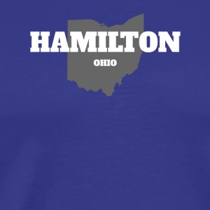 OHIO HAMILTON US STATE EDITION - Men's Premium T-Shirt