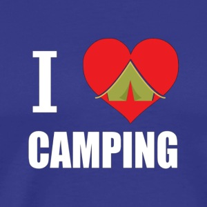 I Love Camping Camper Gift T Shirt My Happy Place - Men's Premium T-Shirt