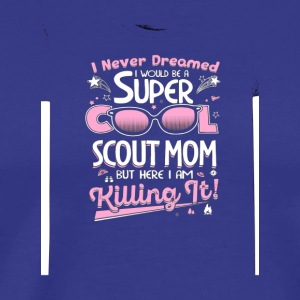 Womens Scout Mom - Men's Premium T-Shirt