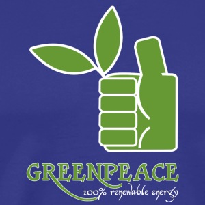 Greenpeace 100 renewable energy - Men's Premium T-Shirt