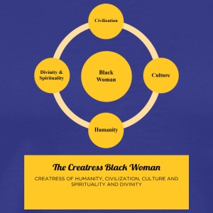 The Creatress Black Woman 1.0 - Men's Premium T-Shirt