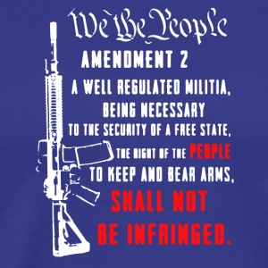 2nd Amendment Tee Shirt - Men's Premium T-Shirt