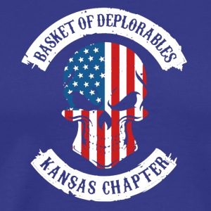 Basket Of Deplorable KS Chapter Shirts - Men's Premium T-Shirt