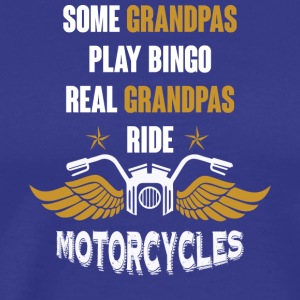 Grandpas Ride Motorcycles T Shirt - Men's Premium T-Shirt