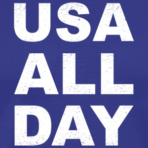 USA All Day - Men's Premium T-Shirt