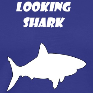 looking shark - Men's Premium T-Shirt
