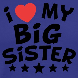 I Heart My Big Sister - Men's Premium T-Shirt