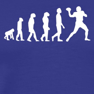 Football Evolution Quarterback - Men's Premium T-Shirt