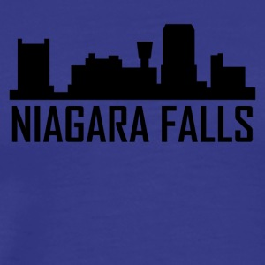 Niagara Falls New York City Skyline - Men's Premium T-Shirt