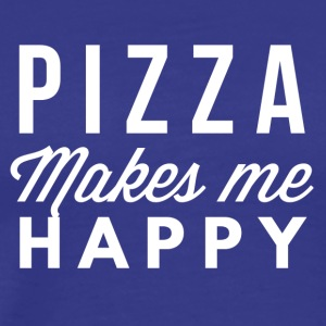 Pizza makes me happy - Men's Premium T-Shirt