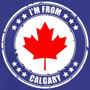 I'm from CALGARY - Men's Premium T-Shirt