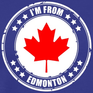I'm from EDMONTON - Men's Premium T-Shirt