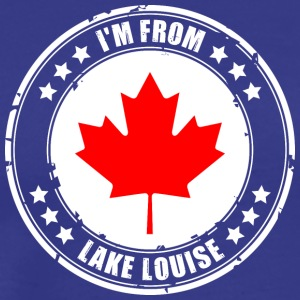 I'm from LAKE LOUISE - Men's Premium T-Shirt