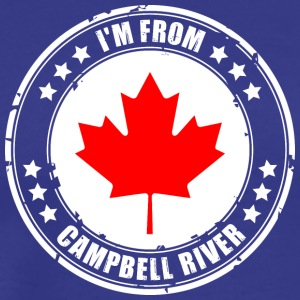 I'm from CAMPBELL RIVER - Men's Premium T-Shirt