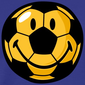 SmileyWorld Football Smiley - Men's Premium T-Shirt