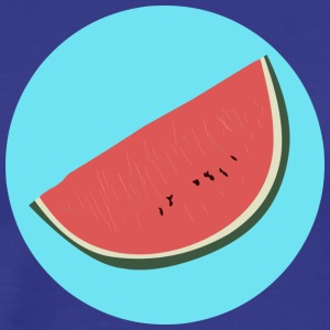Watermelon Illustration - Men's Premium T-Shirt