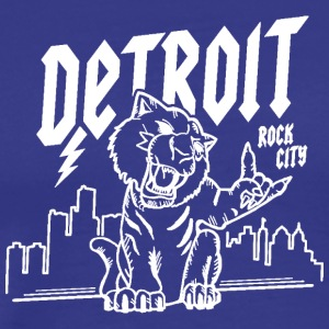 Detroit Rock City White - Men's Premium T-Shirt