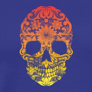 Rainbow Ornamental Skull - Men's Premium T-Shirt