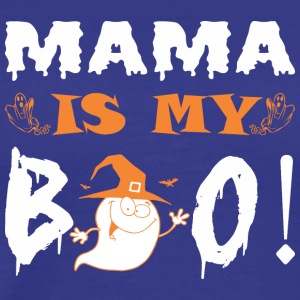 Mama Is My Boo Happy Halloween - Men's Premium T-Shirt