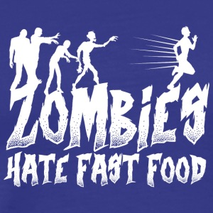 Funny Zombie Undead gift Birthday Christmas - Men's Premium T-Shirt