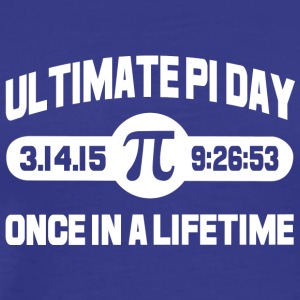 Ultimate pi day once in a lifetime - Men's Premium T-Shirt