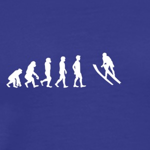 EVOLUTION ski jumping - Men's Premium T-Shirt