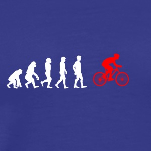 EVOLUTION bycicle fahrrad mountainbike - Men's Premium T-Shirt