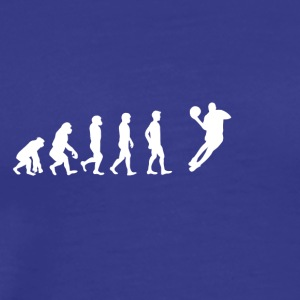 EVOLUTION basketball dunking dunker bal - Men's Premium T-Shirt